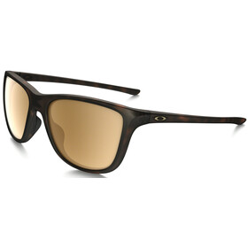 Oakley Reverie Matte Brown Tortoise/Tungsten Iridium Polarized